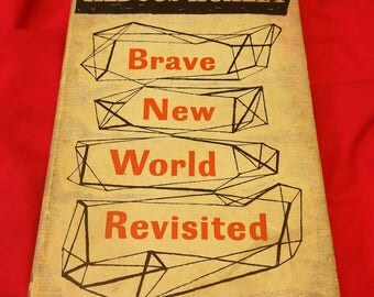Brave New World Revisited by Aldous Huxley first edition 3rd impression