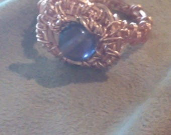 Amethyst ring size 7-8
