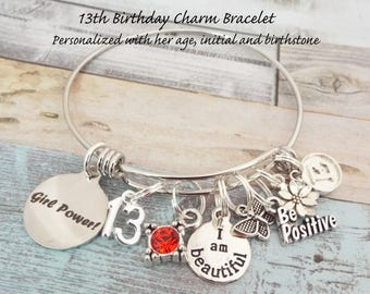 Gift for 13 Year Old Girl, 13th Birthday Gift for Daughter, Personalized Gift for Girl, Daughter Birthday Gift, Granddaughter Gift for Girl