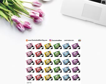 Amanda The Panda ~ SLEEP IN ~ Planner Stickers CAM PaNDA 033