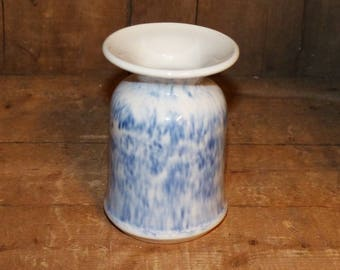 Hand Thrown Pottery Tooth brush holder / vase - 1413
