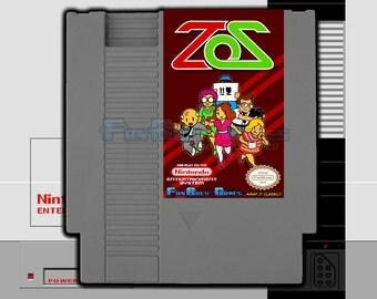 "SPECIAL ORDER! ""Zooming Secretary"" Homebrew Nintendo NES Arcade Style Platformer!"