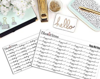 Today & Happy Mail Headers