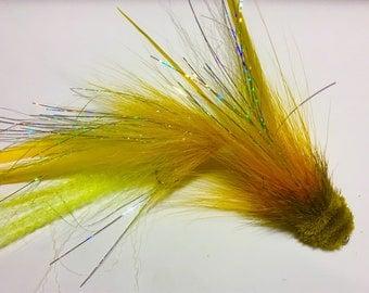 Large Pike/Muskie Flies -Double Deceiver standard or deer head head