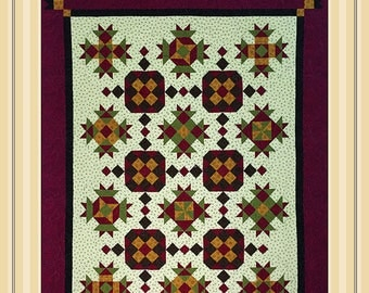 Seasons in Sedona:  is a quilt pattern.