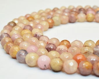 Natural Agate Gemstone Beads Faceted Round Beads 6mm Natural Stones Beads Healing chakra stones Jewelry Making Item# 789222065201