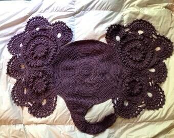 Dusty purple elephant