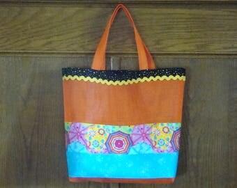 Orange Pet Screen Bag 2