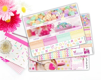 February Conversation Hearts Monthly Kit