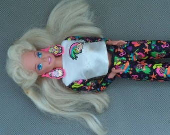 Troll Barbie doll , Barbie doll , Vintage Barbie doll,Toy doll baby , Doll baby from the 1970's