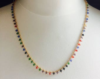Sandy necklace feminine and elegant style with ease Miss vk designer jewelry