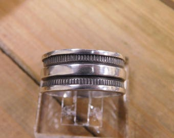 Men's Sterling Silver Band Size 14