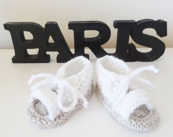 sandals white for baby