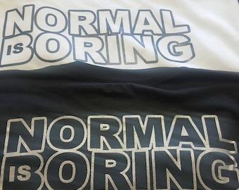 Horus eye Tshirt / normal is boring
