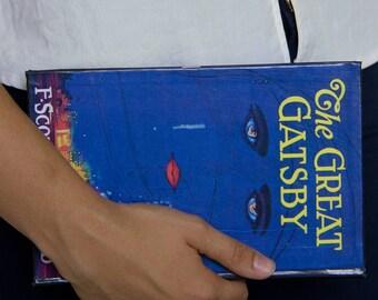 The Great Gatsby BOOK CLUTCH, handbag