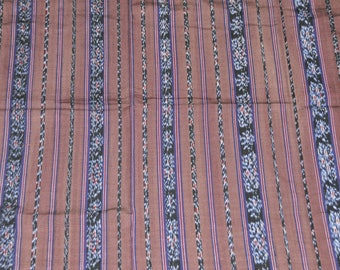 Ethnic Ikat fabric traditional island of Java large size