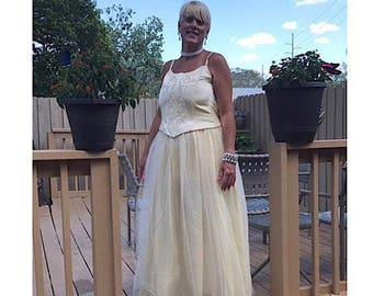 Jessica McClintock Vintage Wedding Gown