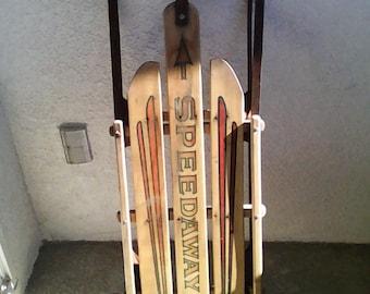 Sledding!  Speedaway direction snow sled! BV/mm