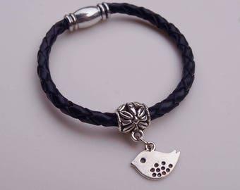 Women Leather Bracelet | Lovely Bird