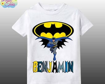 15% Off Batman inspired personalized shirt/Batman birthday boy shirt/Batman shirt/batman birthday personalized /personalized shirt/112