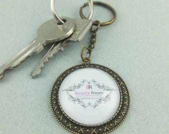personal Keyring with your logo