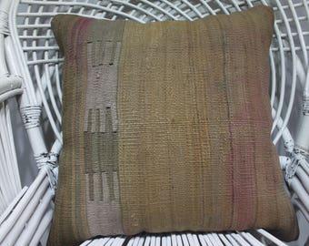 """neutral kilim pillows 20x20"""" pillow cover knit 20 x 20 handmade cushion cover bohemian pillow covers 20x20 kilim pillow cover 2040"""