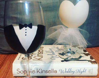 Happily Ever After Wine Glasses
