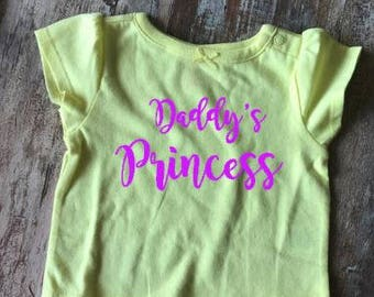 Daddy's Princess Infant Tee