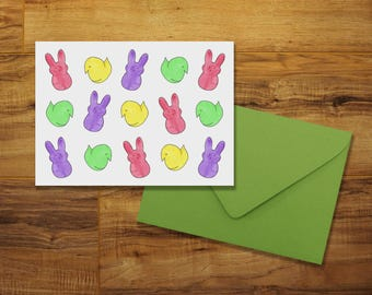 Easter Candy Greeting Card