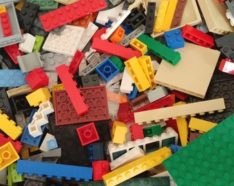 Large Bulk Lot of Over 1000 Various LEGO Pieces - Great Variety, Gift Idea- SAVE 50% or more Buying Used in Excellent to New Condition!