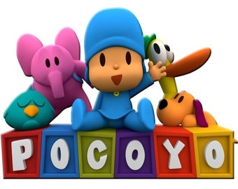 Personalized Name Pocoyo Friends Custom T Shirt Party Favor Birthday Gift Family Party - Bricks