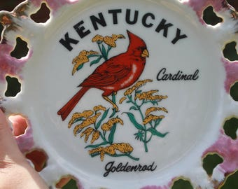 Vintage Kentucky Plate/ Wall Hanging