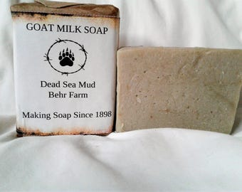 Dead Sea Mud Goats Milk Soap