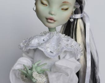 Custom Monster High Doll OOAK Frankie Shtein