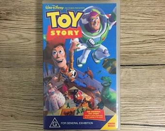 Toy Story 1 VHS Disney Pixar Woody Buzz Limited Release - Bonus Featurette