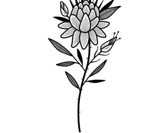 Little Flowers Print