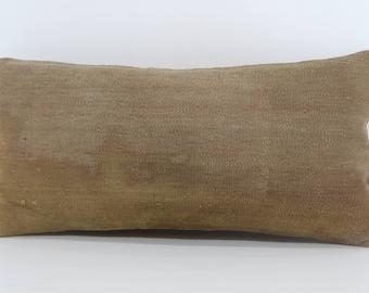 12x24 Decorative Kilim Pillow Boho Pillow 12x24 Turkish Kilim Pillow Handwoven Kilim Pillow Bohemian Kilim Pillow Cushion Cover SP3060-899