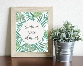 Summer State of Mind Print