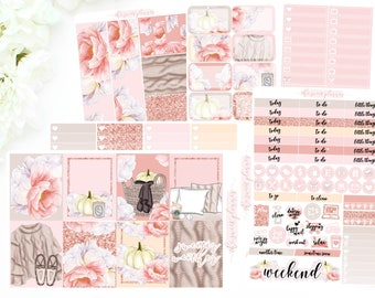 PREORDER | GIRLY FALL | 6 Page Sticker Kit | ECLPVertical