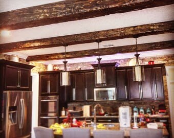 Exposed Wood Beams Made to Order