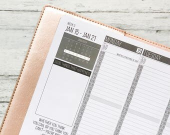 """Week At A Glance MONDAY START """"This Week's Focus"""" Planner Sticker 