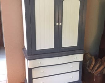 Large Upcycled Armoire (local sale/pick-up only)