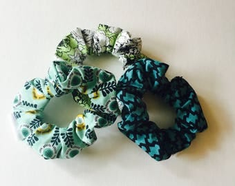 READY / trio ponytail / scrunchies / Christmas stockings gift / gift for her / gift for her
