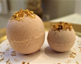 Bath Bomb, Large 8oz Bath Bomb, Ginger Patchouli Bath Bomb, 3oz Bath Bomb, Bath Bomb Gift Set, Gift for Woman, Xlarge bomb, Patchouli Scent
