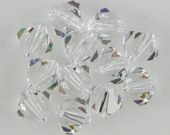 12 8mm Swarovski crystal bicone 5301 Crystal beads 615