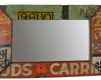20% off this item Reclaimed Wood Painted Mirror