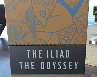 The Iliad The Odyssey Book Set By Homer Like New Condition
