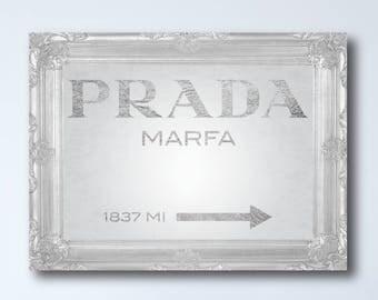 Prada Marfa Vintage Print - GOSSIP GIRL