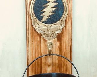 Grateful Dead Bottle opener and catcher, bottle opener, Grateful Dead decor, Grateful Dead