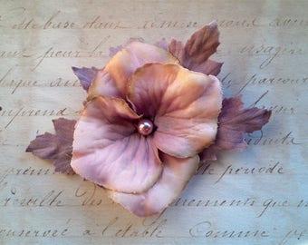 Brooch, flower, flower pin